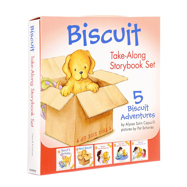 Biscuit Take-Along Storybook Set : 픽쳐리더스 5종 Box (Paperback)(CD없음)