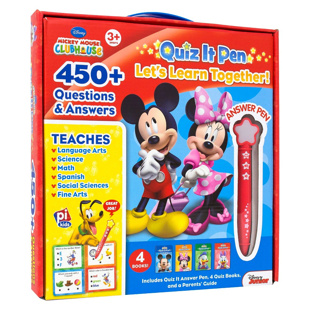 Mickey Mouse Clubhouse : Quiz it Pen Box Set (Sound Book)