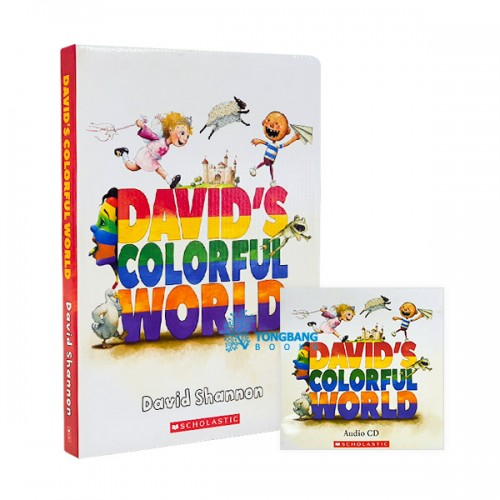David's Colorful World 5종 Book & CD Box Set (Paperback + CD)