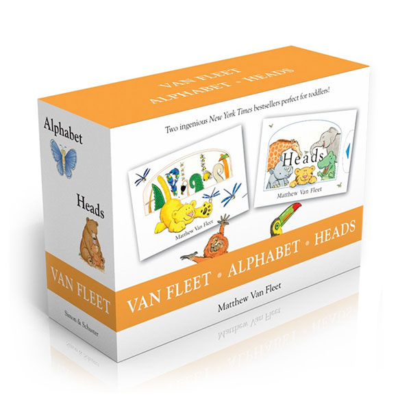 [가격인하] Van Fleet : Alphabet & Heads Boxed Set (Hardcover, 2종)