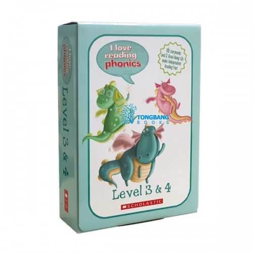 I love Reading Phonics Level 3 & 4 Box Set (Paperback, 16종, Book & CD)
