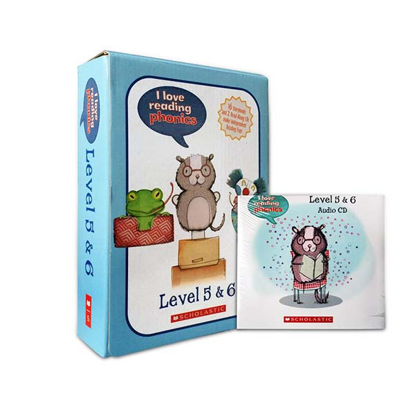 I love Read+ing Phonics Level 5 & 6 Box Set (Paperback, 16권, Book & CD)