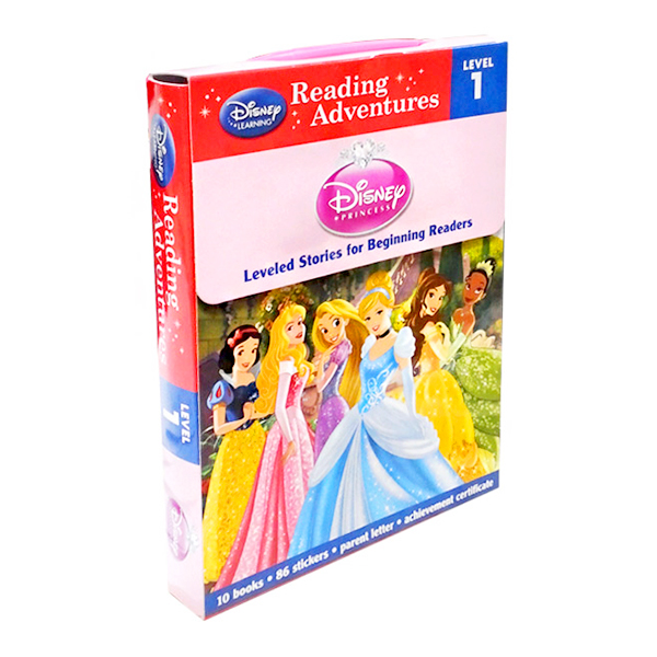 Reading Adventures Disney Princess Level 1 Boxed Set (Paperback)