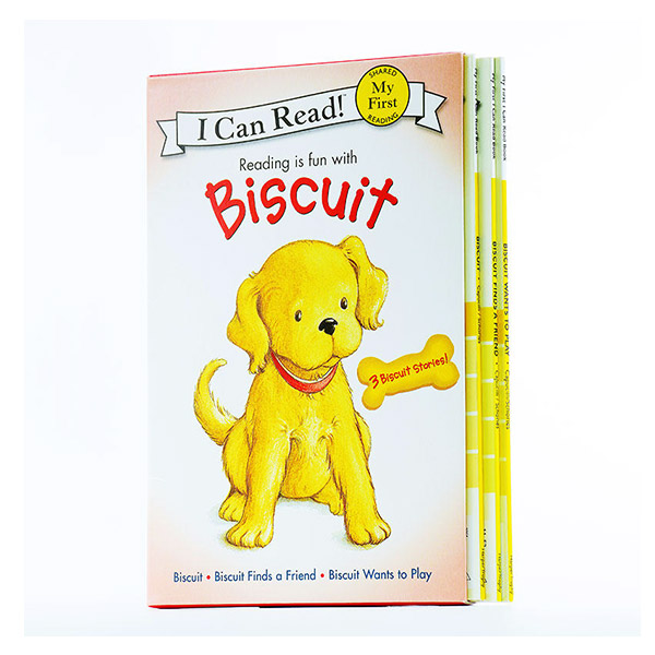 My First I Can Read : Reading is fun with Biscuit 3 Books Boxed Set (Paperback / 3종)