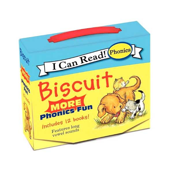 I Can Read Phonics : Biscuit : More Phonics Fun 12 books Boxed Set (Paperback)(CD없음)