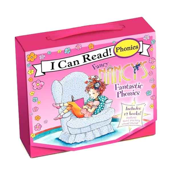 I Can Read Phonics : Fancy Nancy's Fantastic Phonics Fun12 book Box Set