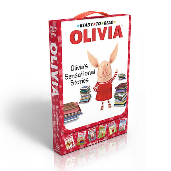 RL 1.8 : Ready to Read Level 1 : Olivia's Sensational Stories Box Set (Paperback / 6 Story Books)