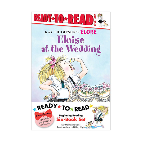 RL 1.1~1.5 : [ Eloise Ready-To-Read level 1 ] Beginning Reading Six-Book Set #1 (Paperback, 6권)
