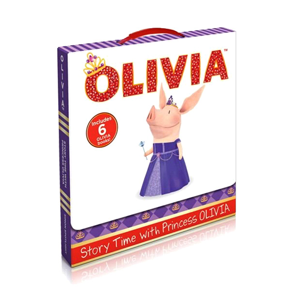 Story Time with Princess Olivia Box Set (Paperback, TV Tie-in / 6 Story Books)