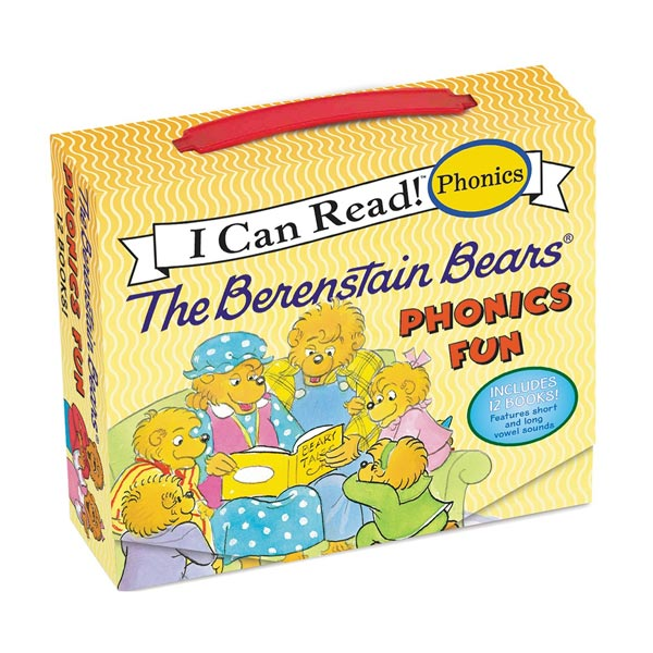 I Can Read Phonics : The Berenstain Bears Phonics Fun 12 book Box Set (Paperback, 12종)