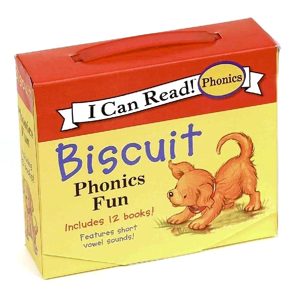 I Can Read! Phonics : Biscuit : Phonics Fun 12 books Boxed Set (Paperback)(CD없음)