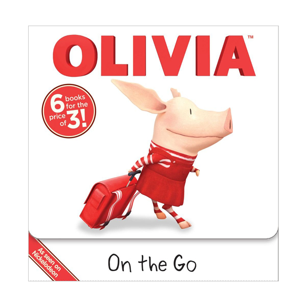 OLIVIA On the Go Box Set (Paperback, Movie Tie-in Edition)