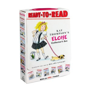 RL 1.0~1.5 : Ready To Read 1 : Eloise Collector's Boxed Set (Paperback, 6권)