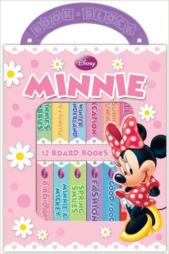 Disney Minnie Mouse 12 Book Block Set (Board book)