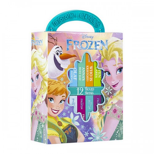 Disney Frozen : 2019 My First Library Board Book Block 12 Book Set (Board book) (CD미포함)