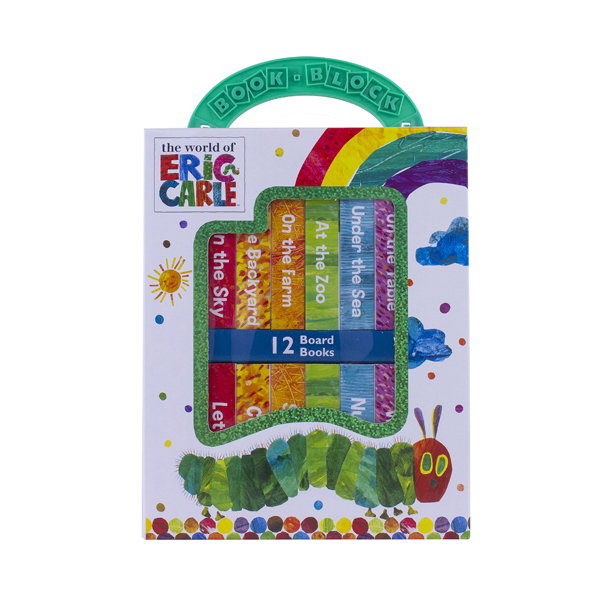 World of Eric Carle : My First Library Board Book Block 12 Book Set (Board book)