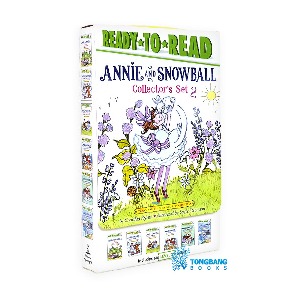 Ready to Read Level 2 : Annie and Snowball Collector's Set #02 : 6종 Box (Paperback)(CD없음)