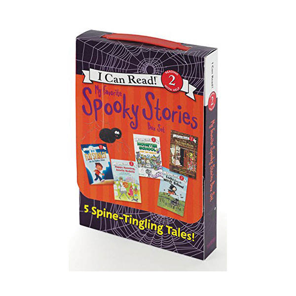 I Can Read Level 2 : My Favorite Spooky Stories Box Set : 5 Silly, Not-Too-Scary Tales! (Paperback, 5 Books)