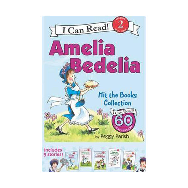 I Can Read 2 : I Can Read Box Set #01 : Amelia Bedelia Hit the Books (Paperback) (CD미포함)