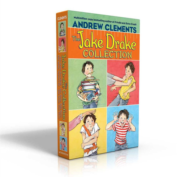 Andrew Clements : The Jake Drake Collection 4종 Box Set (Paperback)(CD없음)