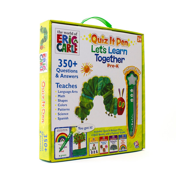 [에릭칼] The World of Eric Carle Quiz It Pen: Let's Learn Together Boxed Set (Hardcover)