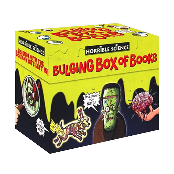[스콜라스틱] Horrible Science : Bulging Box of 20 Books Set (Paperback)