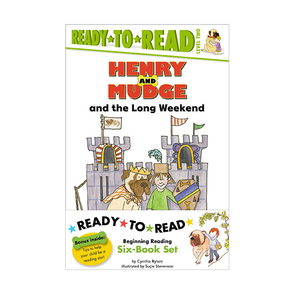 Ready To Read Level 2 : Henry and Mudge Value Pack #02 (Paperback, 6종)(CD없음)