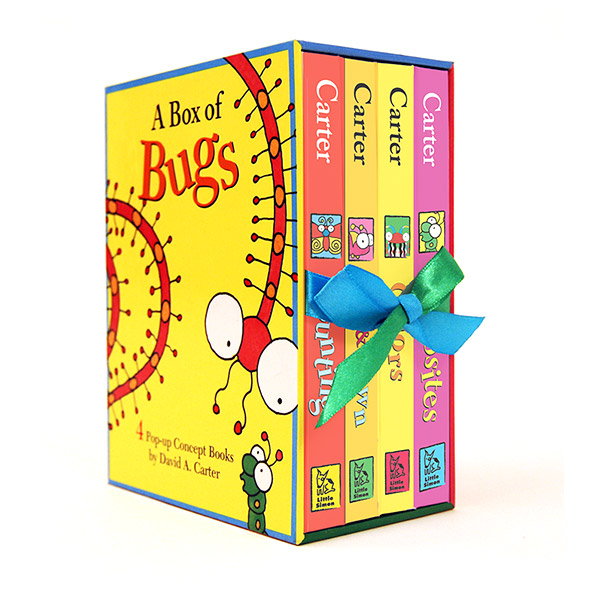 A Box of Bugs : 4 Pop-up Concept Books (Hardcover, 4종) (CD미포함)