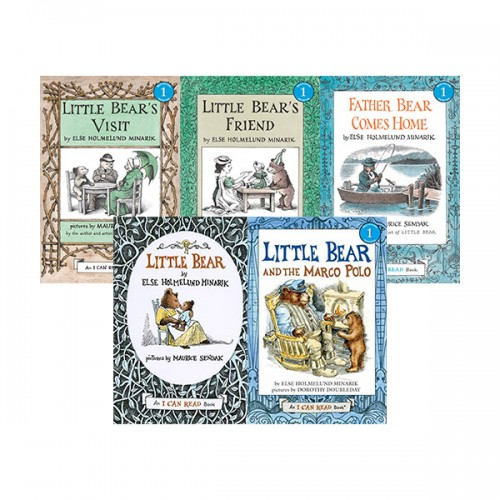 I Can Read Level 1 : Little Bear 리더스북 5종 세트 (Paperback)