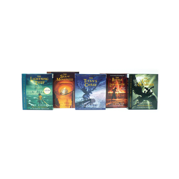 Percy Jackson and the Olympians Books 1-5 CD Collection (Audio CD)