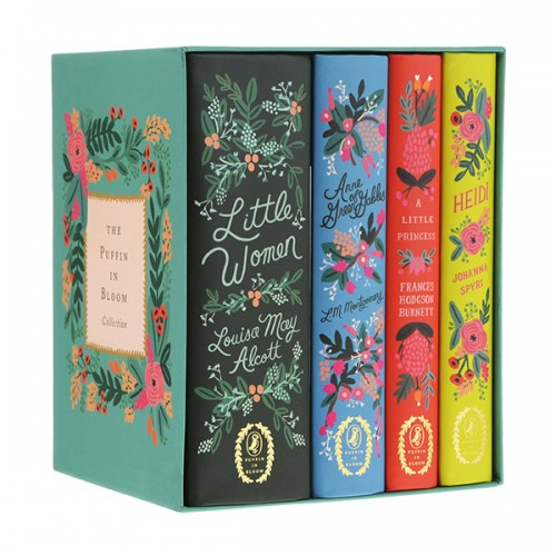 The Puffin In Bloom Collection : Illustrated Classics 4 Books Boxed Set (Hardcover)(CD없음)