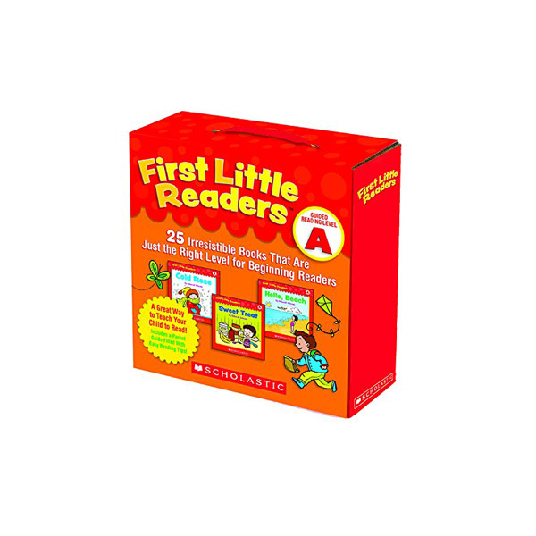 First Little Readers Reading Level A (Box, 25 books)