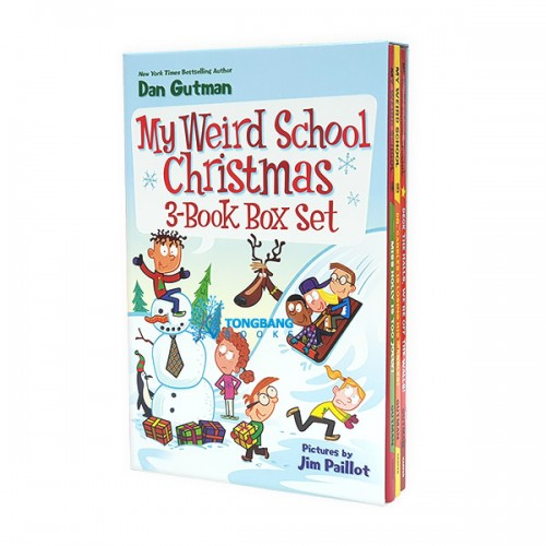 My Weird School Christmas 3 Book Box Set (Paperback) (CD 미포함)