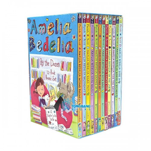 Amelia Bedelia 12-Book Boxed Set (Paperback, 12권) (CD미포함)