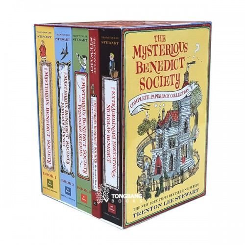 The Mysterious Benedict Society Complete Paperback Collection 5종 Box Set (CD미포함)