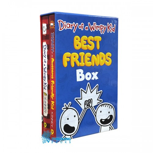 Diary of a Wimpy Kid : Best Friends Box (Hardcover) (CD미포함)