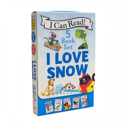 I Can Read 5-Book Box Set : I Love Snow (5권, Paperback) (CD미포함)