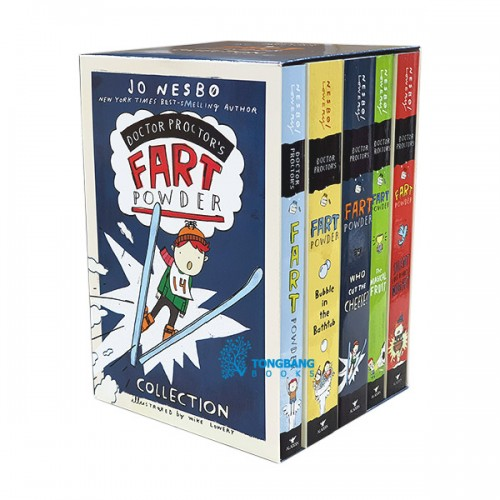 Doctor Proctor's Fart Powder Collection 5 Books Boxed Set (Paperback)(CD없음)