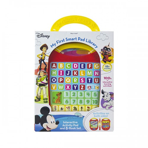 Disney - Mickey, Minnie, Toy Story and More! : My First Smart Pad Library (Hardcover)