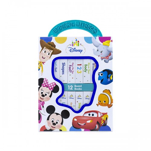 Disney Baby :  Book Block 12 Book Set (Board book)