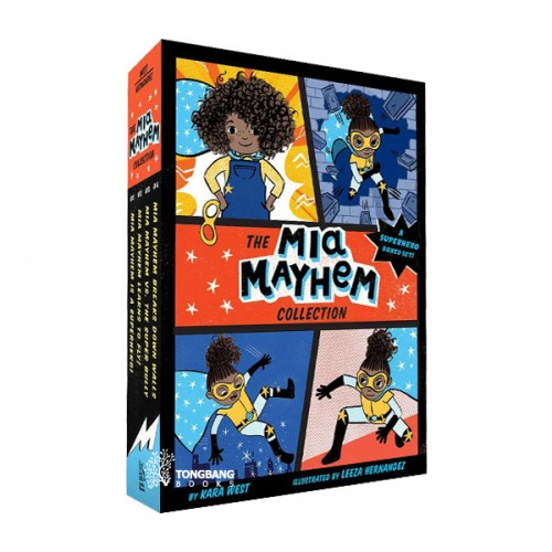 The Mia Mayhem Collection - 4 Books Boxed Set (Paperback) (CD미포함)