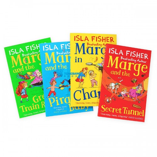 Marge in Charge Collection - 4 Books Set (Paperback) (CD미포함)