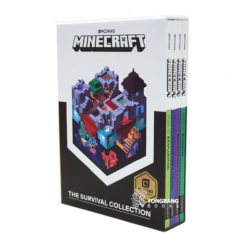 Minecraft The Survival Collection - 4 Books Boxed Set (Paperback, 영국판) (CD미포함)