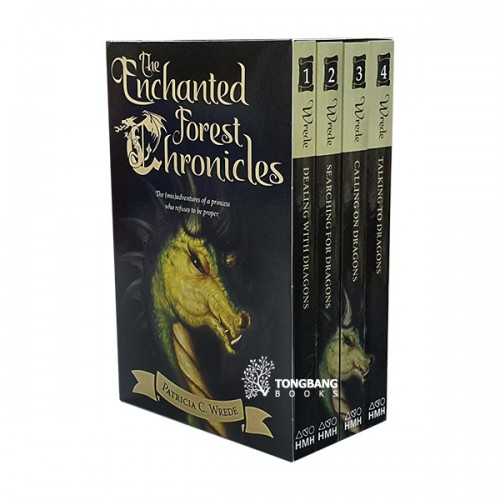 The Enchanted Forest Chronicles #01-4 Books Boxed Set (Paperback, 4종) (CD미포함)