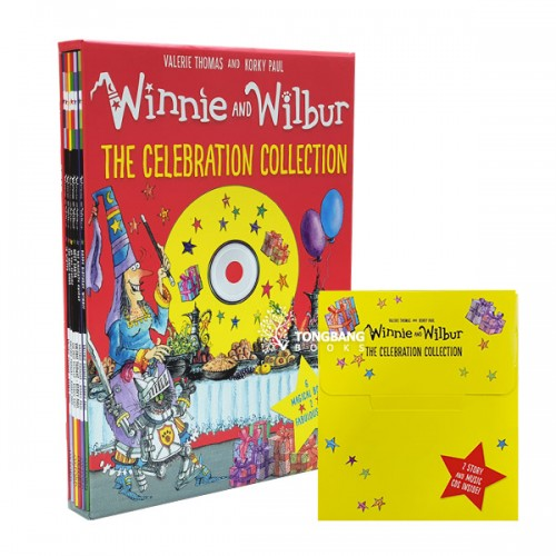 Winnie and Wilbur : The Celebration Collection 픽쳐북 6종 & CD Box Set (Paperback+ CD, 영국판)