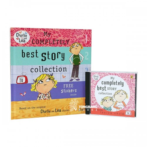 Charlie and Lola : My completely best Story collection Book & CD 2종 세트 (Book & CD, 영국판)