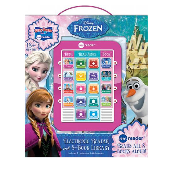 Disney Frozen : Electronic Me Reader and 8 Book Set (Hardcover, Sound Book)