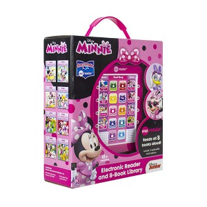 Disney Minnie : Electronic Me Reader and 8-Book Library (Hardcover)