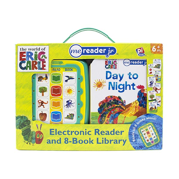 ★키즈코믹콘★Eric Carle : Me Reader Junior 8 Book (Sound/Board Book)
