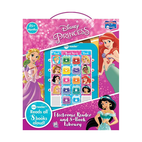 Disney Princess Electronic Reader : Me Reader and 8 Book Library (Hardcover)